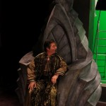 Photo tournage - le roi targot ( Marc DURET)