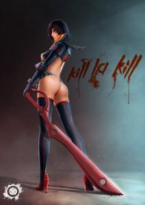 kill la kill - trinquette publishing contest - fan art - manga