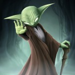 fan art - master yoda - star wars - jedi art