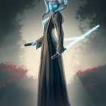 twi'lek jedi - star wars - fan art - illustrator - illustration - photoshop paint