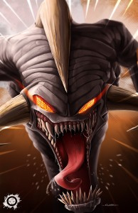 spawn - fan art - clown -violator -illustration - illustrator