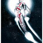 inktober 2015 - cdriko - ink- sf - draw - space ranger - exosquelette