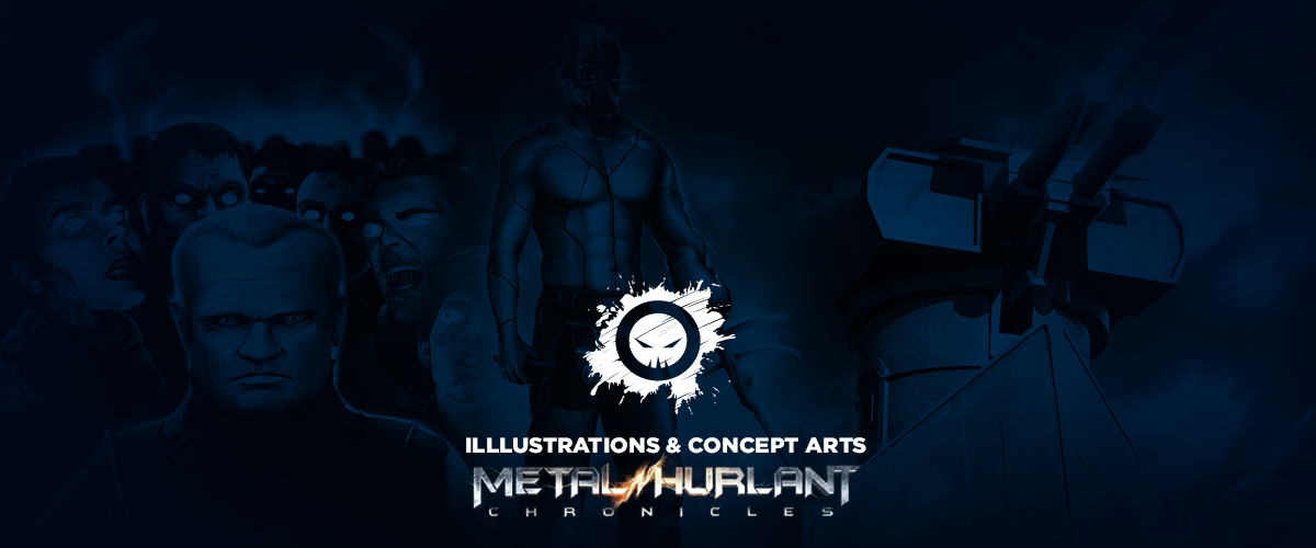 metal hurlant chronicles concept arts illustrations